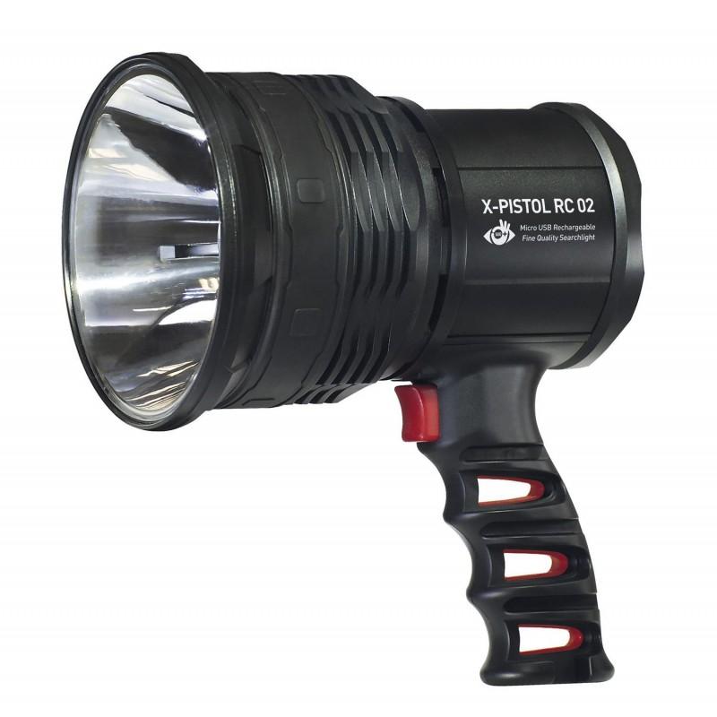 Szperacz LED 10 Watt X-Pistol RC 02 Mactronic