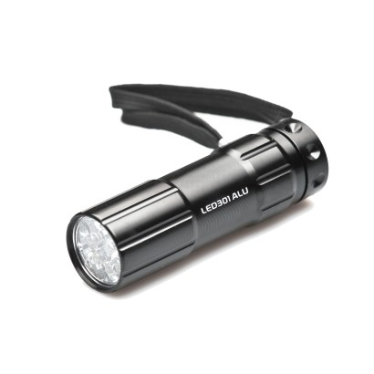 Aluminiowa latarka 9 LED 301ALU Falcon Eye
