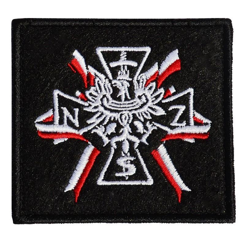 Plakietka Haasta Haft Krzyż NSZ
