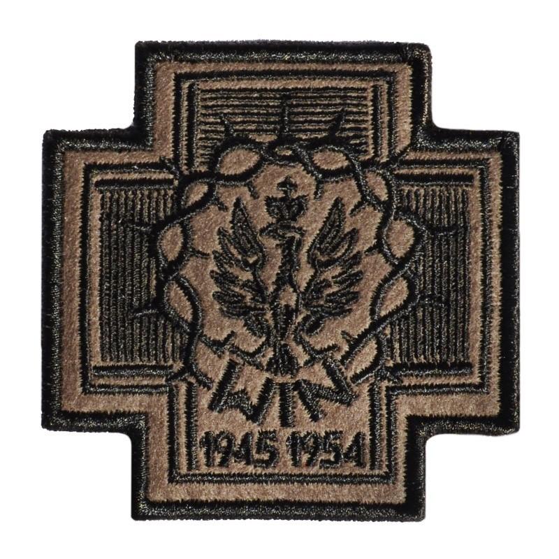 Plakietka Haasta Krzyż Wolność i Niezawisłość
