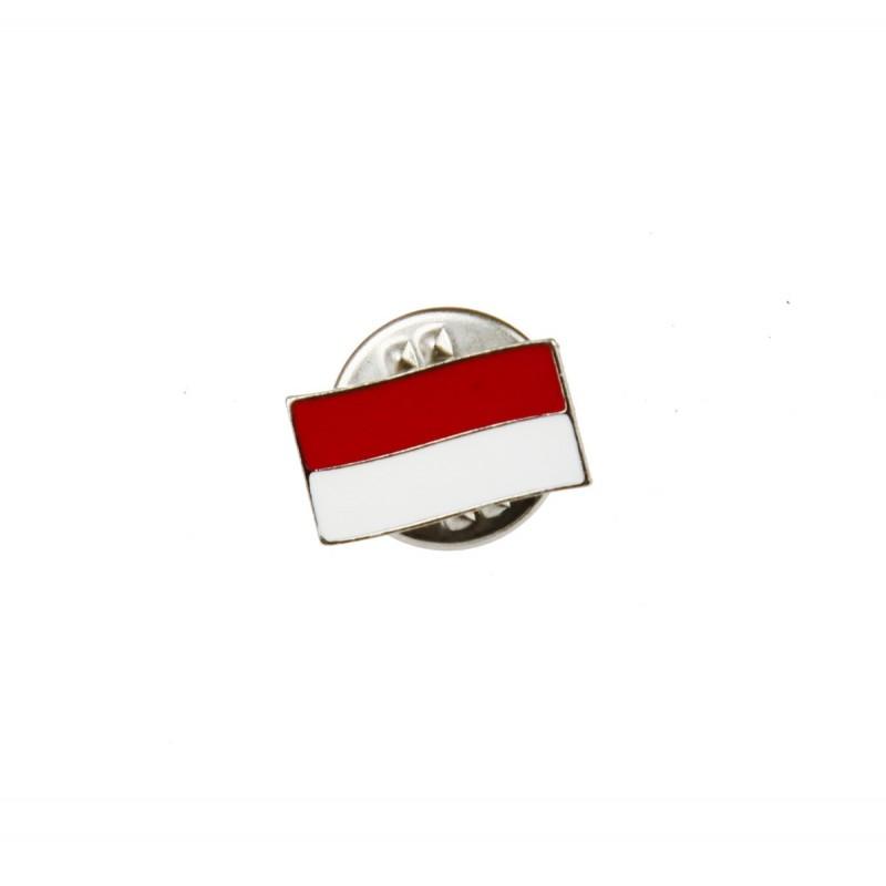 Znaczek Metalowy Haasta Flaga Polski (ZHFPM)
