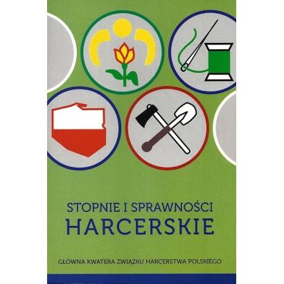 Książka Stopnie i Sprawności Harcerskie