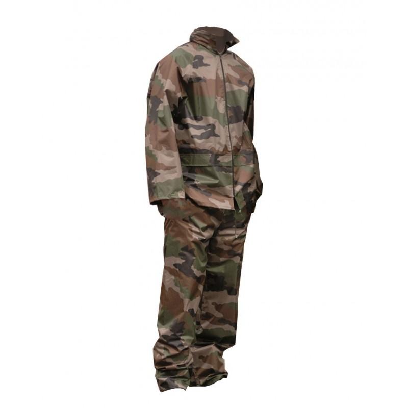 Komplet przeciwdeszczowy, kurtka i spodnie Mil-Tec Camo
