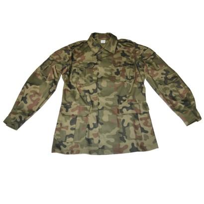 Bluza polowa dziecięca Woodland 002AS