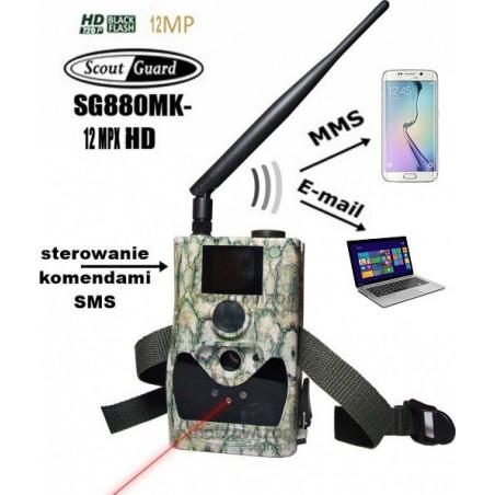 Urządzenie monitorujące MMS fotopułapka ScoutGuard SG880MK - 14 MPX HD