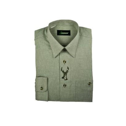 Koszula myśliwska Skogen z haftem jelenia 20006008/310