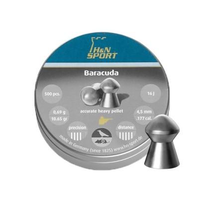 Śrut diabolo H&N Baracuda 4,5 mm 500 szt.