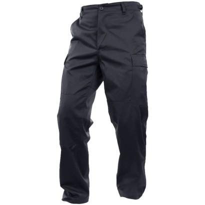 Spodnie, bojówki dziecięce Czarny