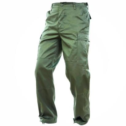 Spodnie, bojówki dziecięce Olive