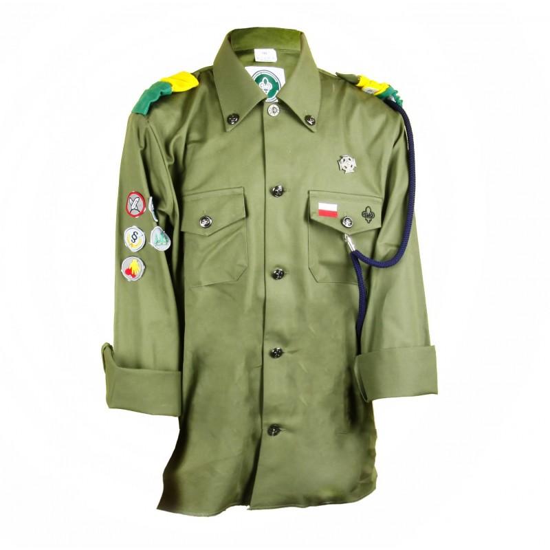 Męska koszula harcerska ZHP