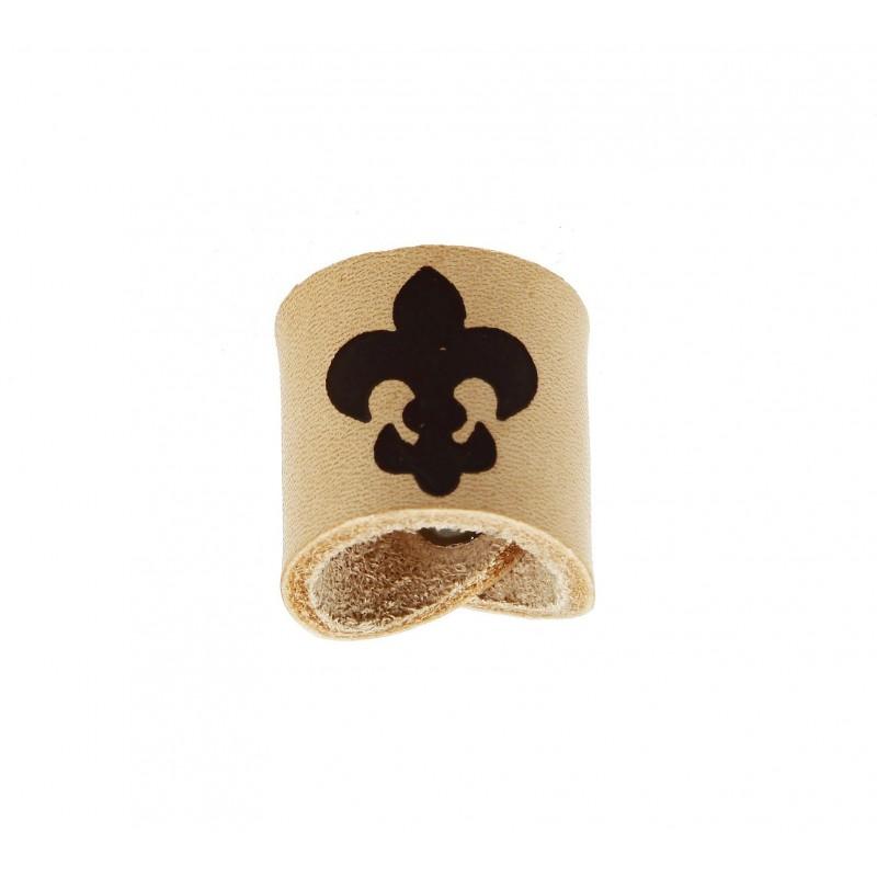 Pierścień harcerski z logo