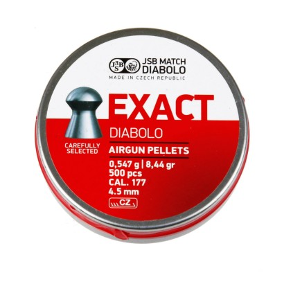 Śrut JSB Exact Diabolo 4,5 mm 500 szt.