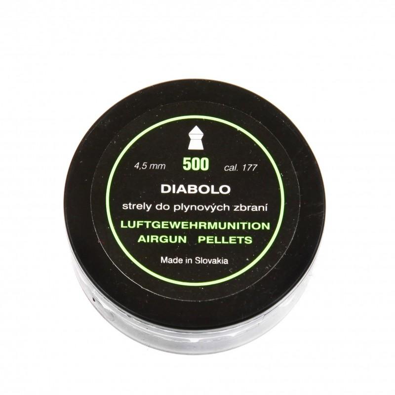 Śrut Diabolo Airgun Pallets kal. 4,5 mm 500 szt.