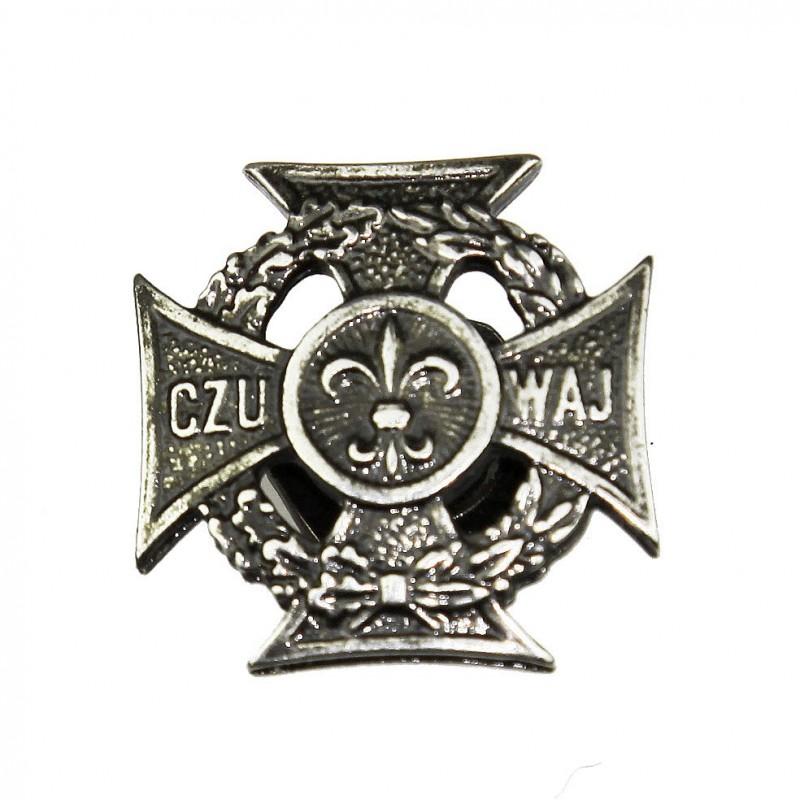 Krzyż harcerski na mundur ZHR i ZHP