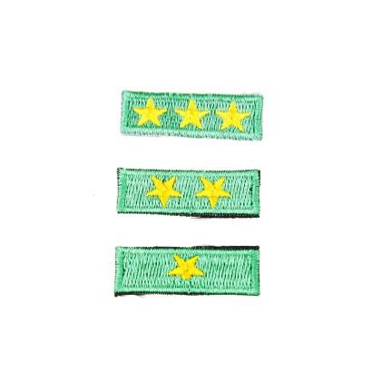 Plakietka gwiazdka zuchowa zielona