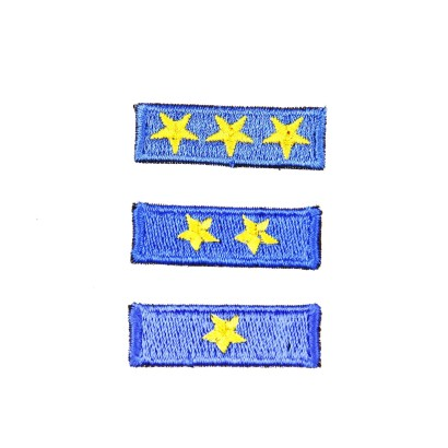 Plakietka gwiazdka zuchowa niebieska