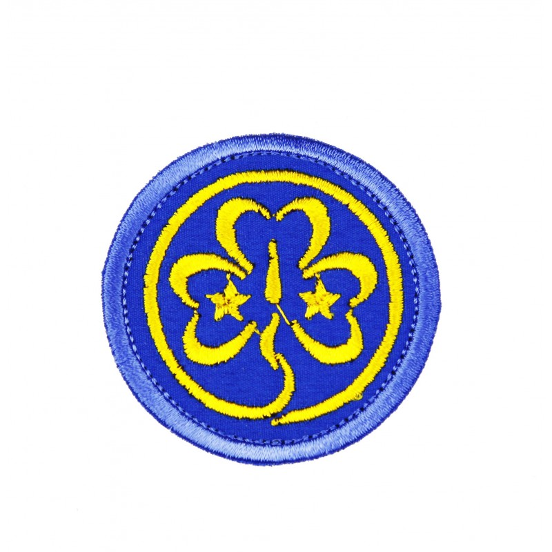 Koniczynka haftowana WAGGGS